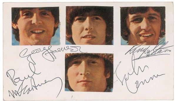 June 1966 autographs