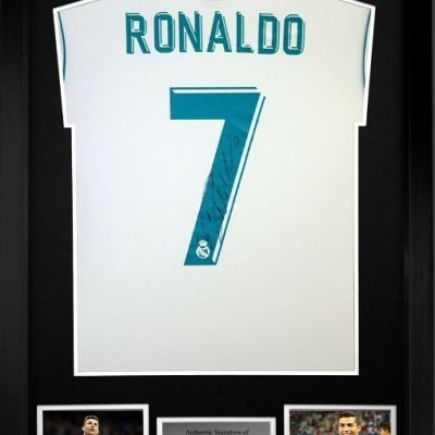 Cristiano Ronaldo signed Real Madrid #7 Football Shirt