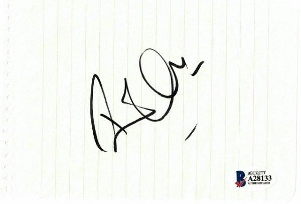 Robert Plant Original Autograph for sale | Led Zeppelin