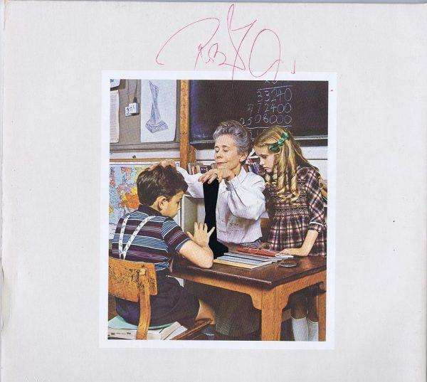 Led Zeppelin Presence Signed by Robert Plant Album Vinyl lp