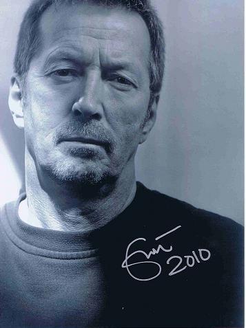 Eric Clapton signed photo 8×10 Genuine Autograph