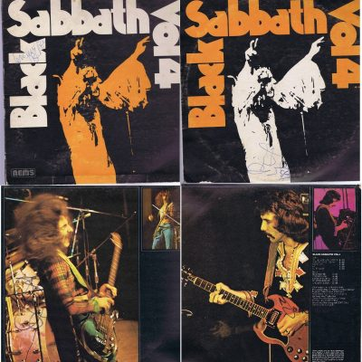 Black Sabbath Vol 4 Autographs 70's vintage signatures.