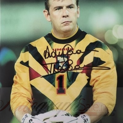Andy Goram Scotland Goalkeeper signed photo 8×10