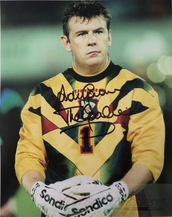 Andy Goram Scotland Goalkeeper signed photo 8×10