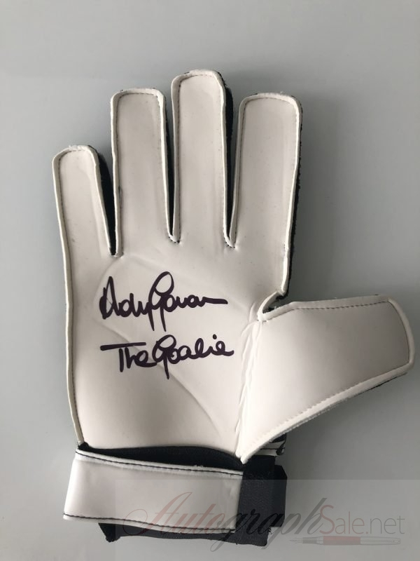 Andy Goram Autographed Sondico Goalkeeper Glove Rangers Goalie