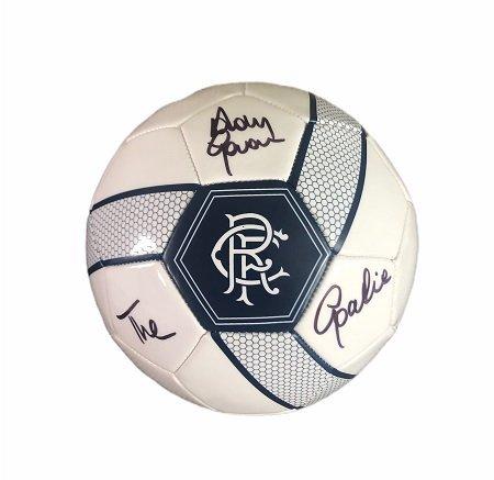 Andy Goram signed Rangers Football The Goalie
