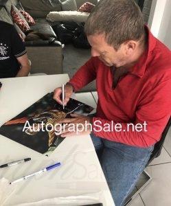 Andy Goram autographs