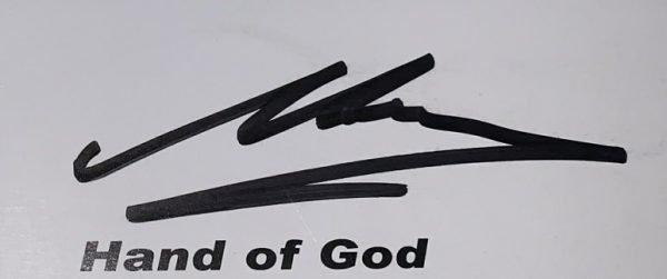Hand of god signed maradona