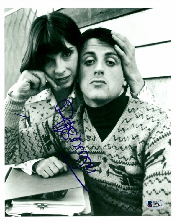 Talia Shire Signed Rocky Balboa Photograph Authentic Autograph