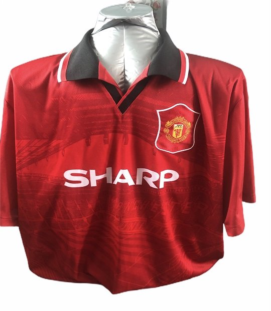 Andrei Kanchelskis Autographed Manchester United Football Shirt