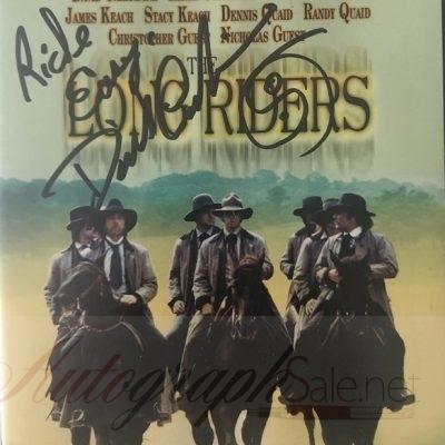 David Carradine signed DVD The Long Raiders Autograph