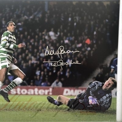 Andy Goram Goalkeeper Glasgow Rangers signed photo 16×12″