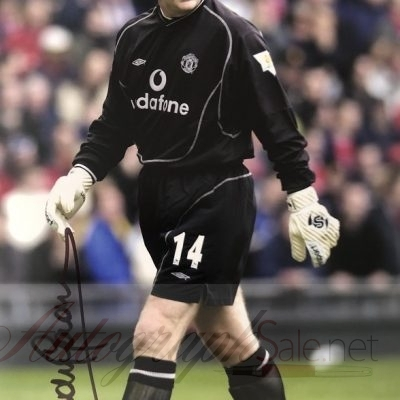 Andy Goram Manchester United signed Goalkeeper photo 12×8