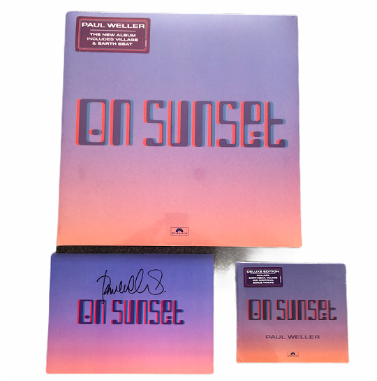Paul Weller signed On Sunset Vinyl CD set | The Jam