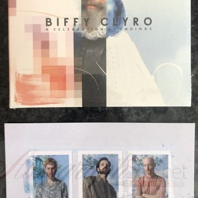 Biffy Clyro autographs signed A Celebration of Endings Album