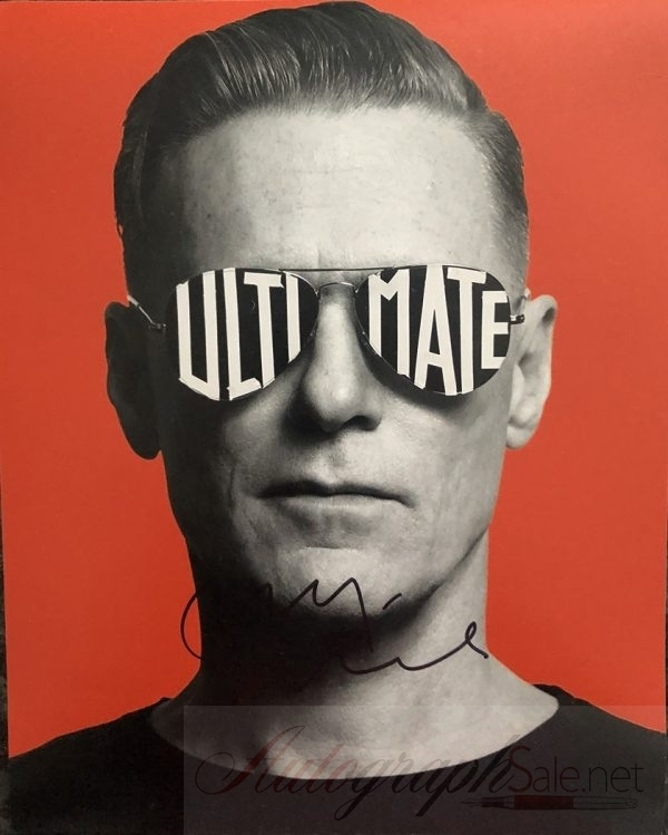 Bryan Adams signed photograph 8×10″ genuine autograph