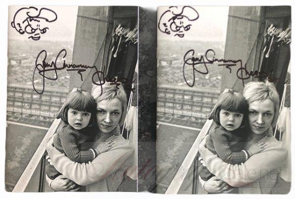 Gerry Cinnamon signed The Bonny Lyric book autographed