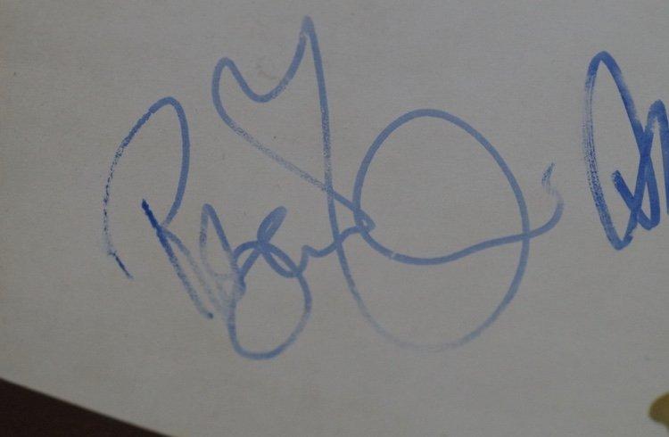 Robert Plant autograph