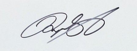 Ryan Giggs signed old trafford street sign 1