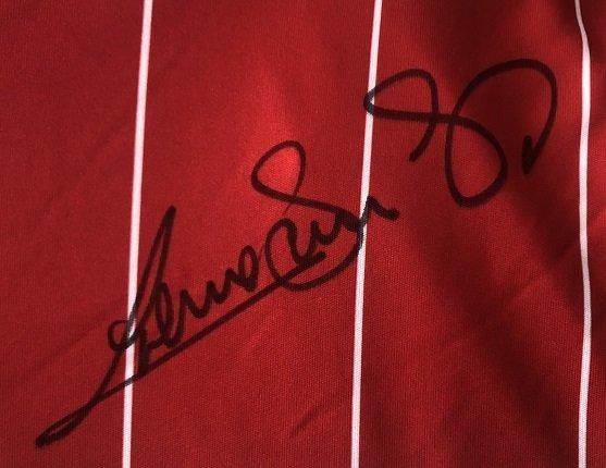 liverpool signed autograph graeme souness 4