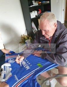 authentic paul gazza gascoigne signed shirt