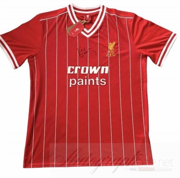 Kenny Dalglish signed Liverpool Retro home Shirt 1982