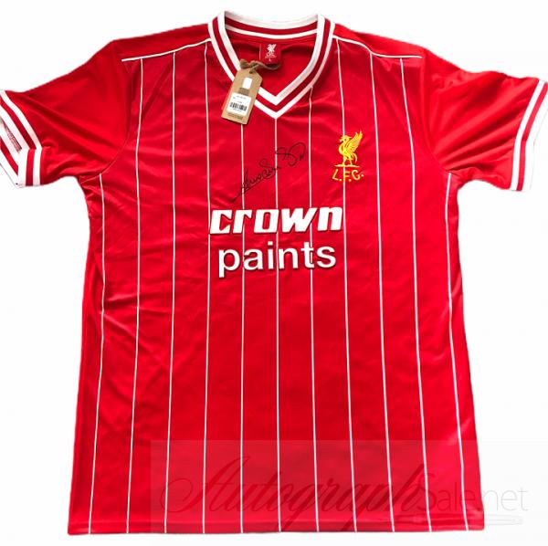 Graeme Souness signed Liverpool FC football shirt 1982