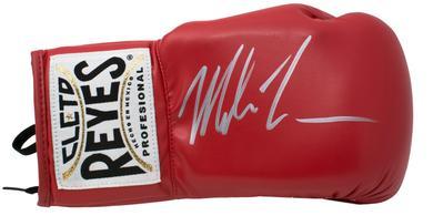 Mike Tyson autographs