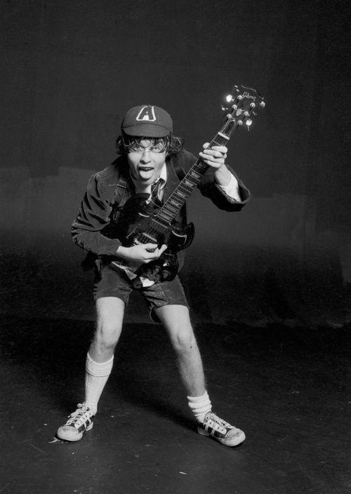 Angus Young Autographs   AC/DC Signed Memorabilia